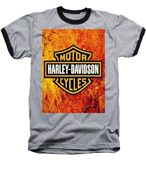 Harley-davidson Baseball T-Shirt