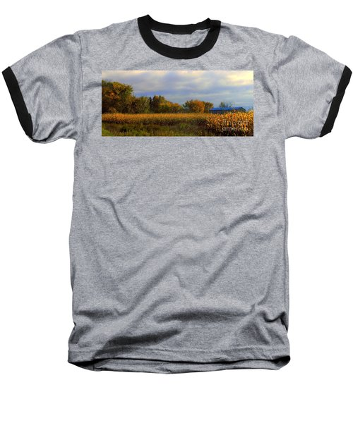 Harvest Baseball T-Shirt by Elfriede Fulda