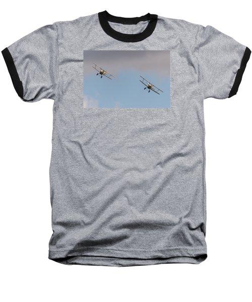 Hawker Nimrods Baseball T-Shirt by Gary Eason