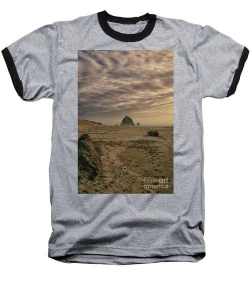 Haystack Rock Baseball T-Shirt