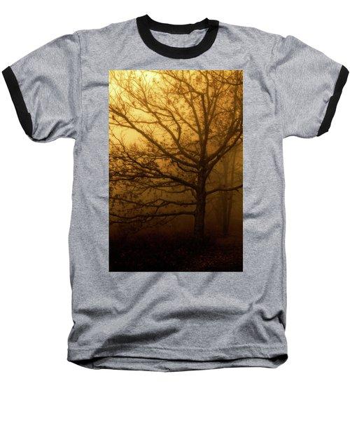 Hazy Daze Baseball T-Shirt by Deborah Scannell