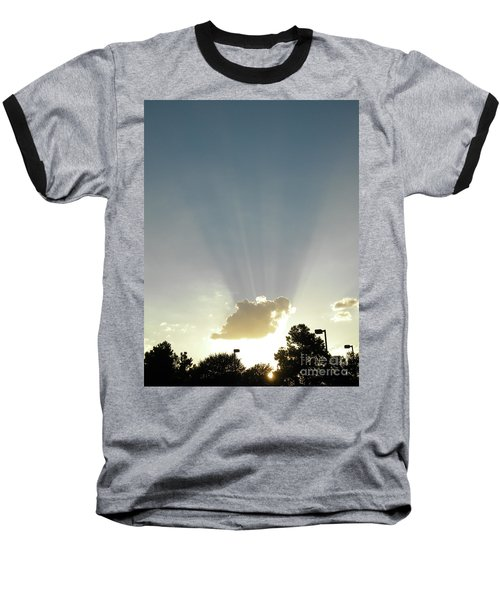 Heavenly Rays Baseball T-Shirt