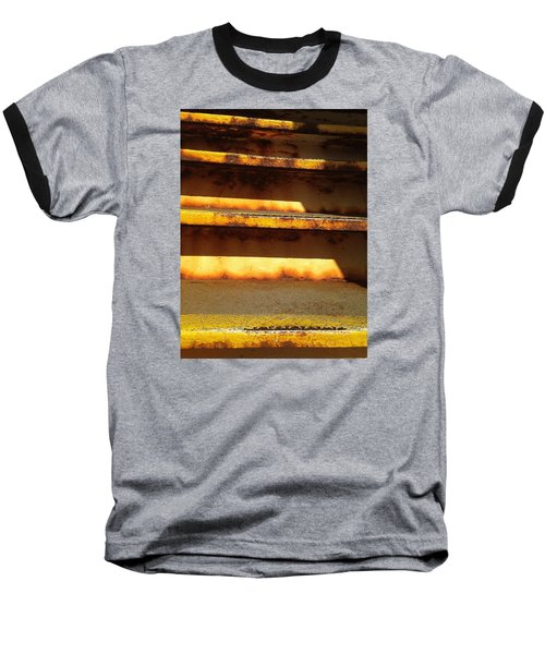 Baseball T-Shirt featuring the photograph Heavy Metal by Olivier Calas