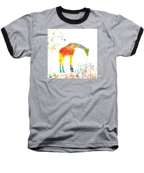 Baseball T-Shirt featuring the digital art Hello by Trilby Cole