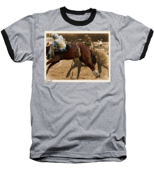 Helluva Rodeo-the Ride 6 Baseball T-Shirt