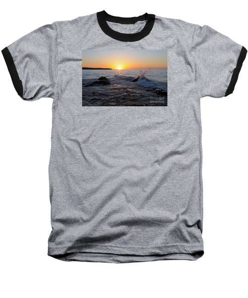 Baseball T-Shirt featuring the photograph Here Comes The Sun by Sandra Updyke