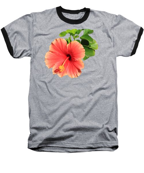 Baseball T-Shirt featuring the photograph Hibiscus by Shane Bechler
