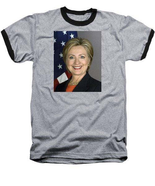 Hillary Clinton Baseball T-Shirt by War Is Hell Store