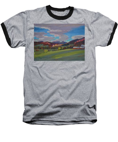 Hills Of Upstate New York Baseball T-Shirt