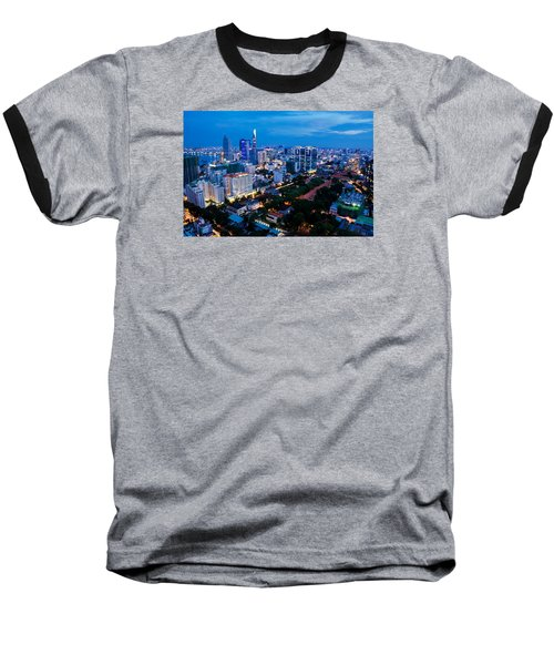 Ho Chi Minh City Night Baseball T-Shirt