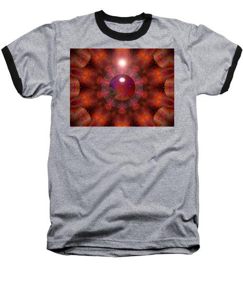 Baseball T-Shirt featuring the digital art Hold On by Robert Orinski