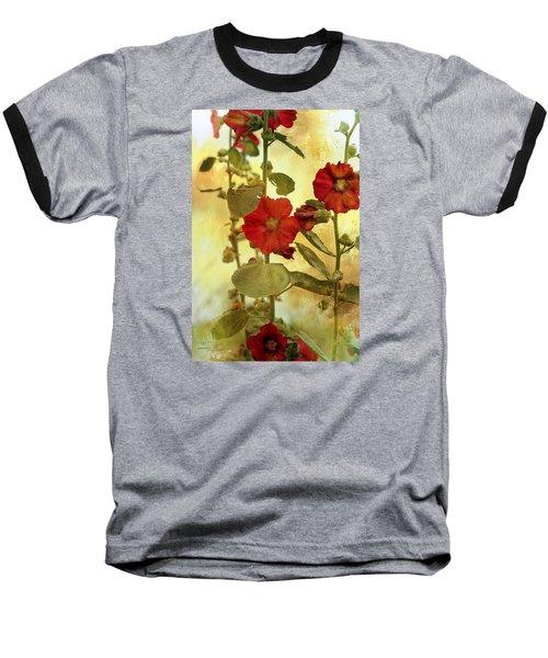 Hollyhocks Baseball T-Shirt