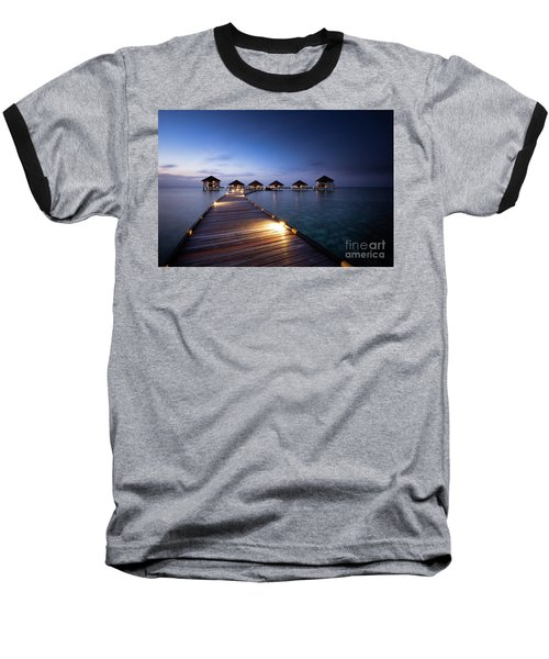 Baseball T-Shirt featuring the photograph Honeymooners Paradise by Hannes Cmarits