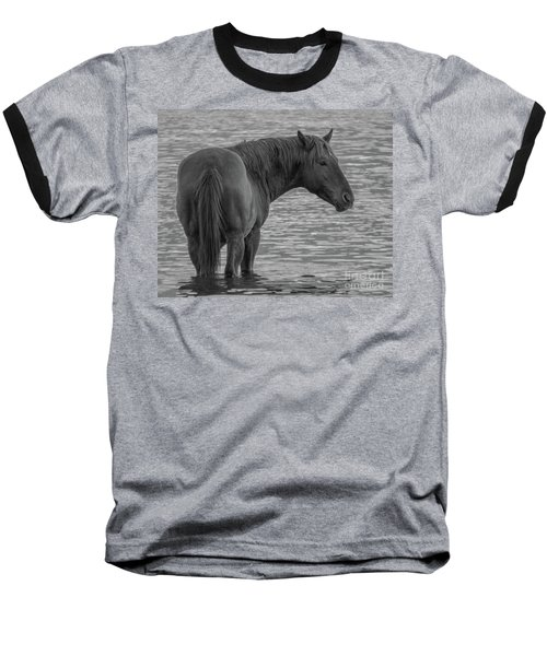 Horse 10 Baseball T-Shirt