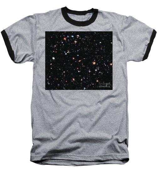 Hubble Extreme Deep Field Baseball T-Shirt