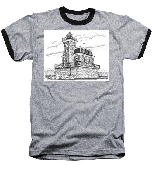 Hudson-athens Lighthouse Baseball T-Shirt