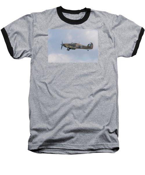 Hurricane Taking Off Baseball T-Shirt by Gary Eason