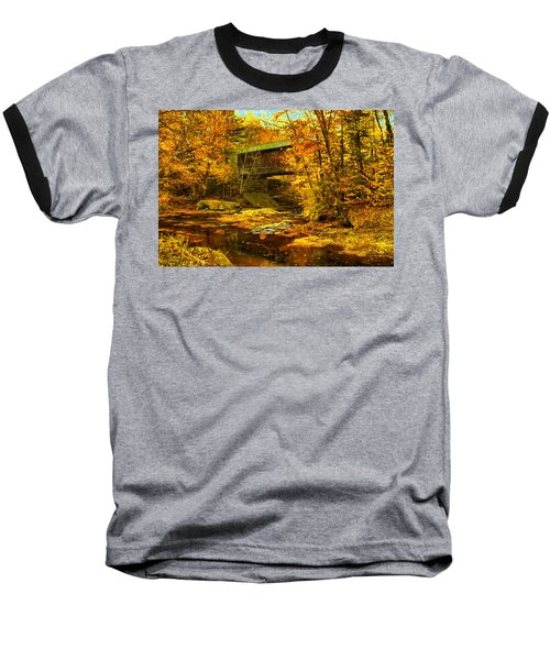 Hutchins Bridge Baseball T-Shirt by John Selmer Sr