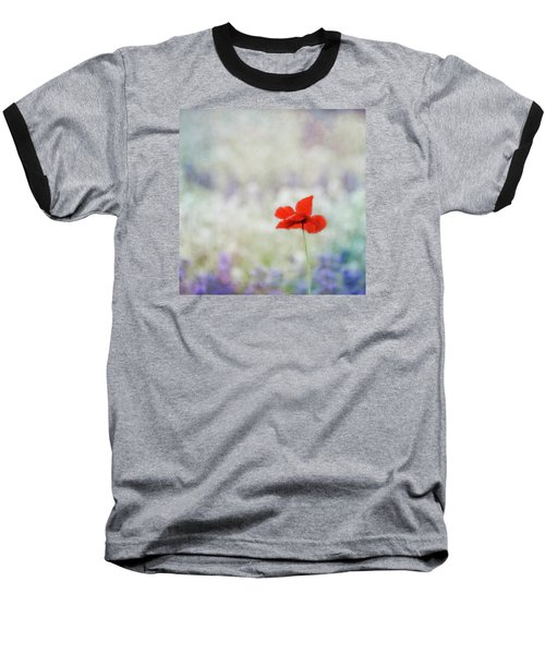 Baseball T-Shirt featuring the photograph I Wish by Robin Dickinson