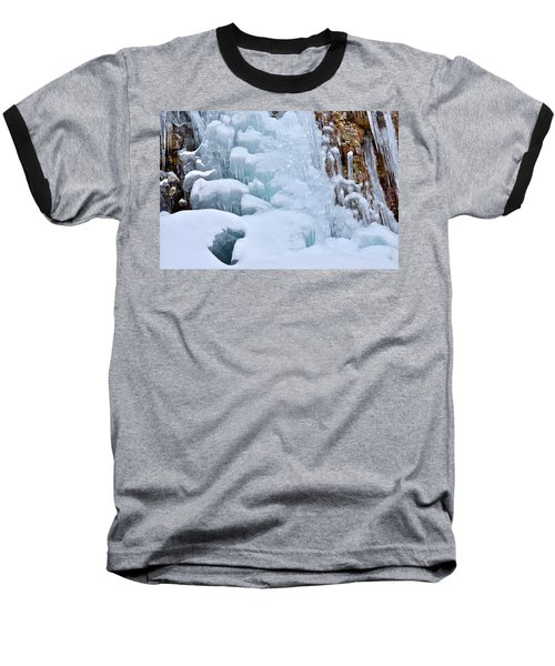 Ice Mosaic Baseball T-Shirt