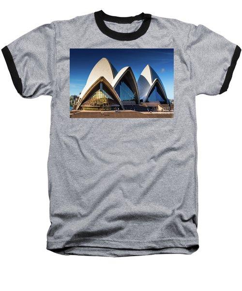 Iconic Sydney Opera House Baseball T-Shirt