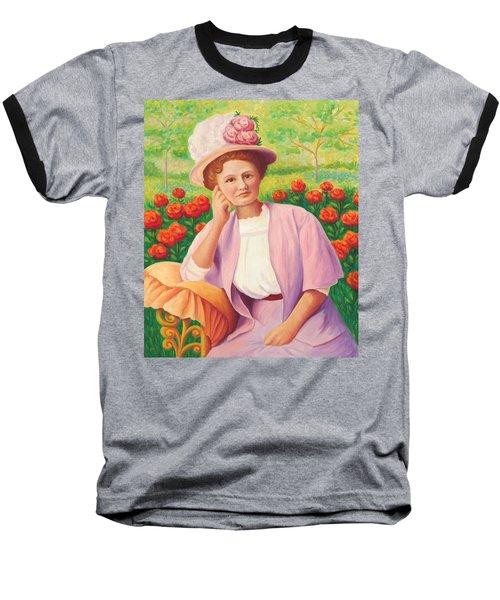 Ida In The Garden Baseball T-Shirt