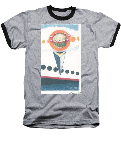 Baseball T-Shirt featuring the drawing Idea Ismay by Rod Ismay
