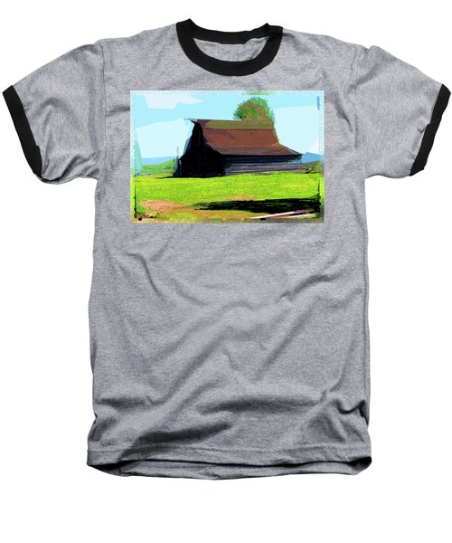 If Buildings Could Talk Baseball T-Shirt
