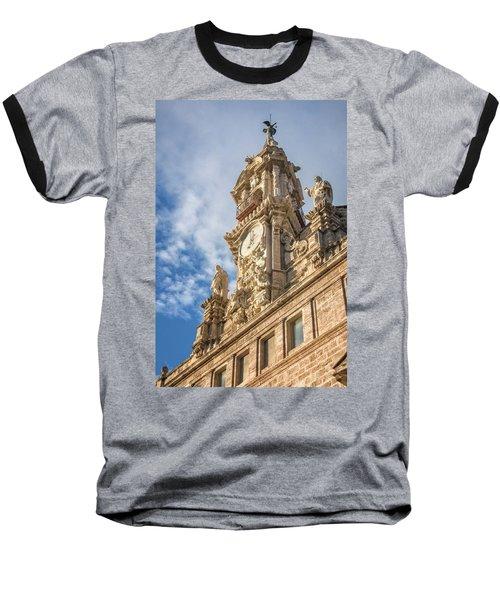 Baseball T-Shirt featuring the photograph Iglesia De Los Santos Juanes Valencia Spain by Joan Carroll