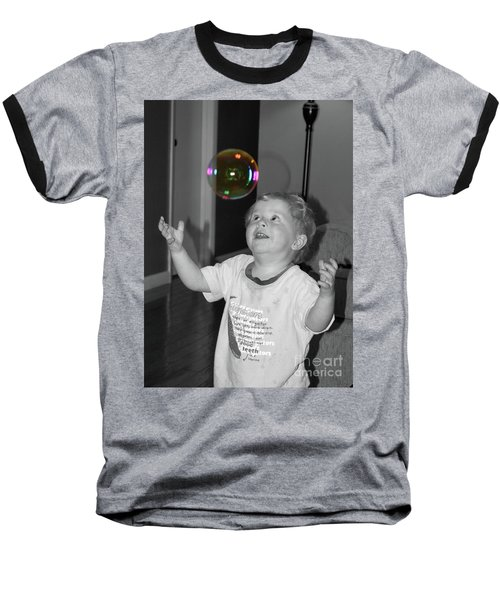 Baseball T-Shirt featuring the photograph Imagine by Robert Meanor