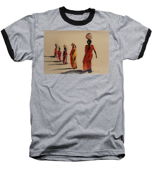 In Search Of Water. Baseball T-Shirt