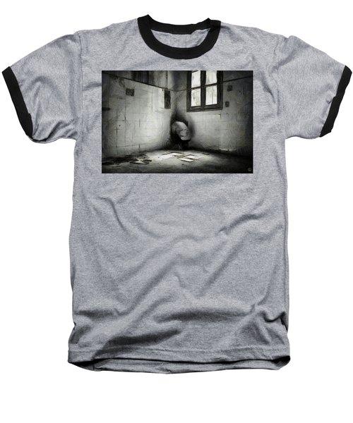 In The Corner Baseball T-Shirt by Gun Legler