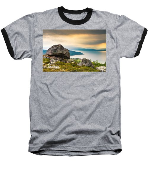 Baseball T-Shirt featuring the photograph In The North by Maciej Markiewicz