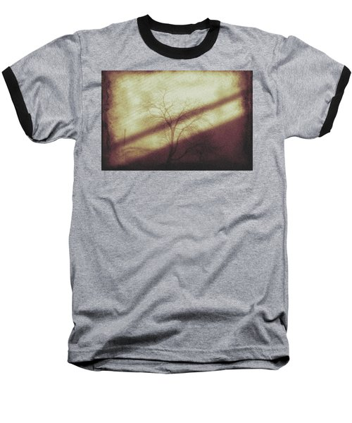 In The Quiet Baseball T-Shirt by Allen Beilschmidt