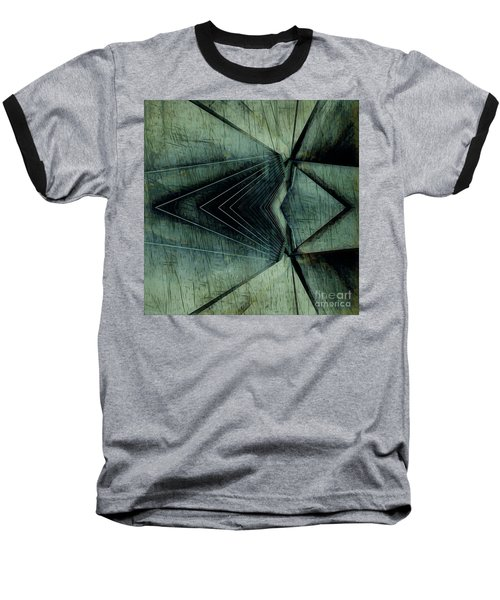 Industrial Bridge Grey Baseball T-Shirt