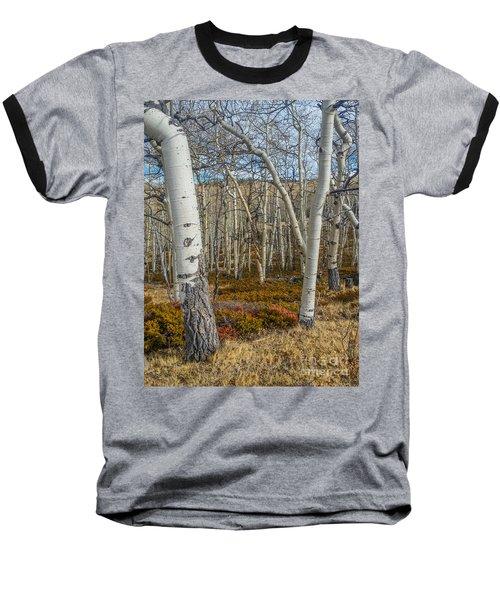 Into The Trees Baseball T-Shirt