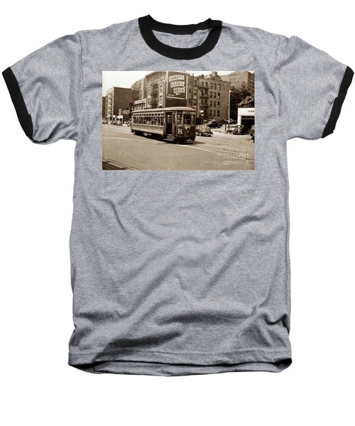 Inwood Trolley Baseball T-Shirt