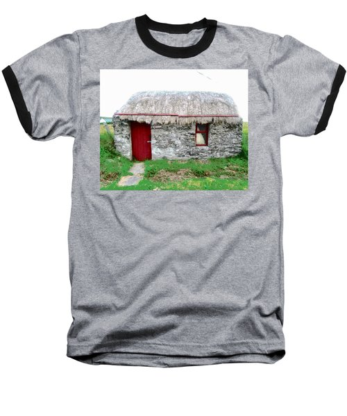 Irish Cottage Baseball T-Shirt