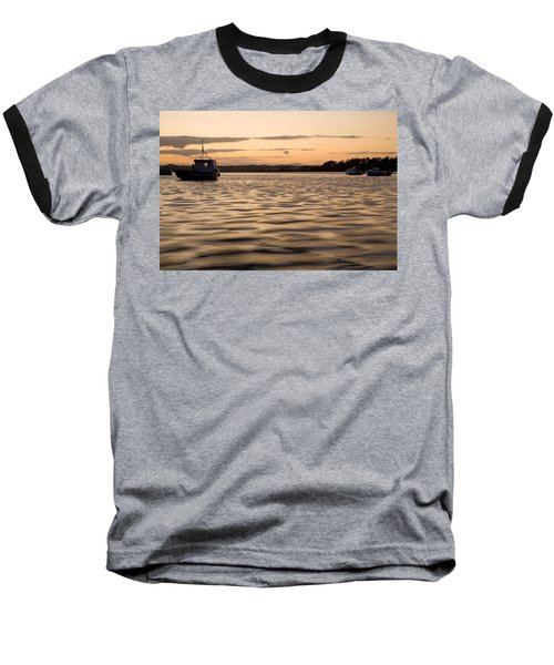 Baseball T-Shirt featuring the photograph Irish Dusk by Ian Middleton