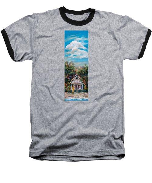 Island Bungalow Baseball T-Shirt