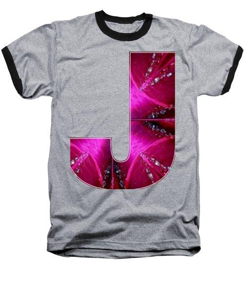 J Jj Jjj  Alpha Art On Shirts Alphabets Initials   Shirts Jersey T-shirts V-neck Sports Tank Tops  B Baseball T-Shirt
