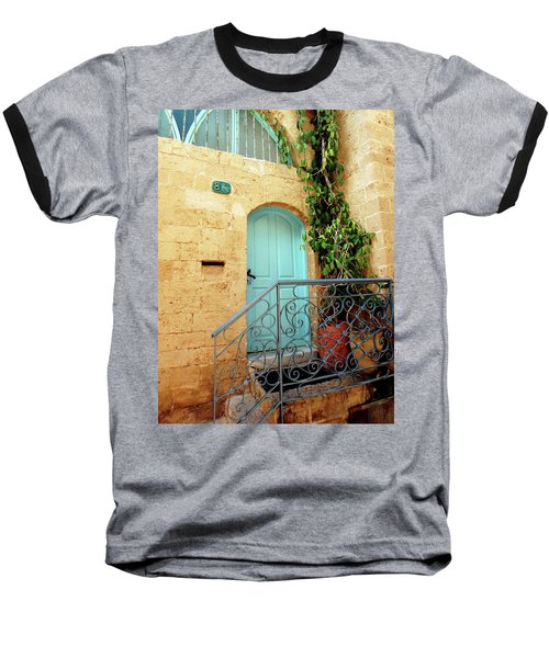 Baseball T-Shirt featuring the photograph Jaffa-israel by Denise Moore