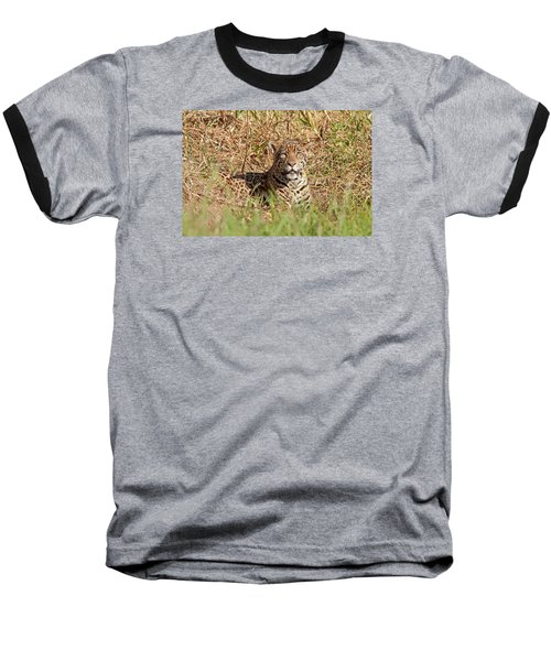 Jaguar Watching Baseball T-Shirt