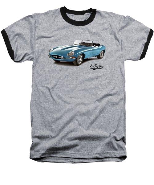 Jaguar E-type Baseball T-Shirt