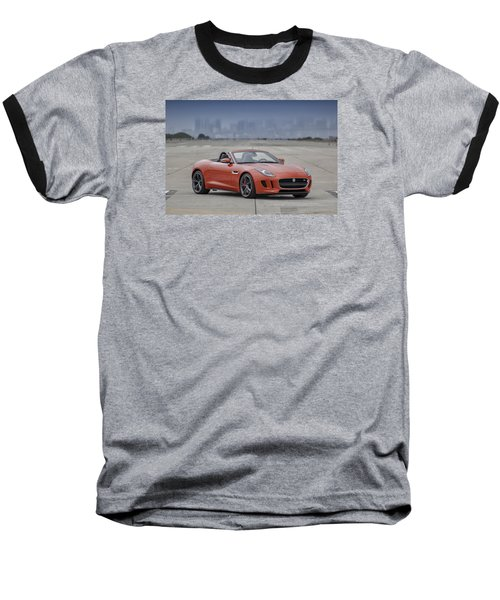 Jaguar F-type Convertible Baseball T-Shirt