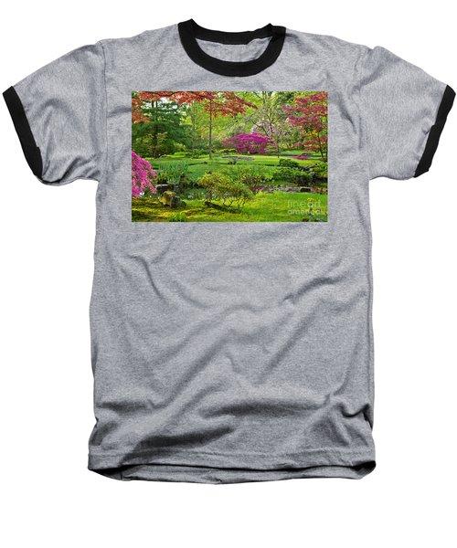 Japanese Garden Baseball T-Shirt