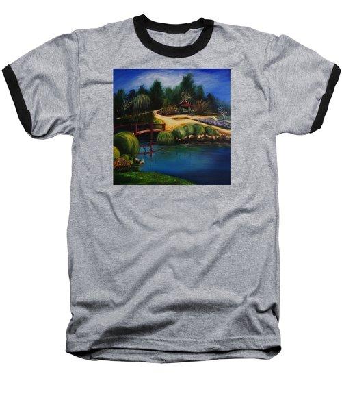 Japanese Gardens - Original Sold Baseball T-Shirt