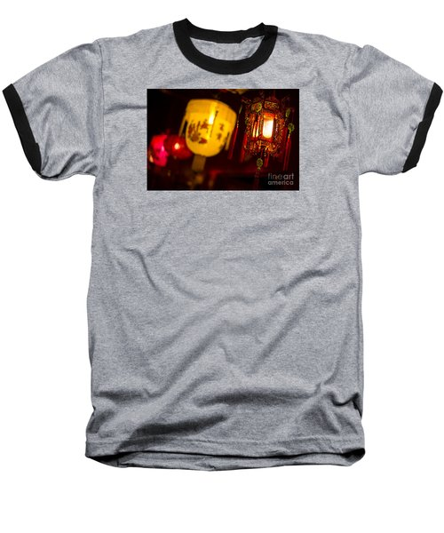 Japanese Lanterns 6 Baseball T-Shirt