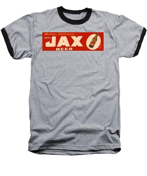 Jax Beer Of New Orleans Baseball T-Shirt by Saundra Myles
