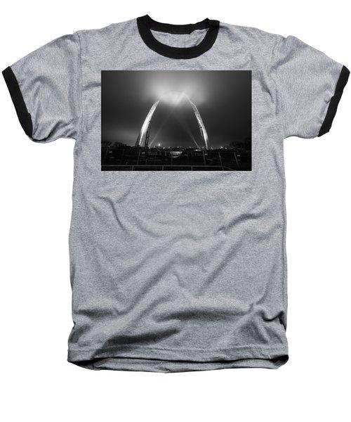 Jefferson Expansion Memorial Gateway Arch Baseball T-Shirt